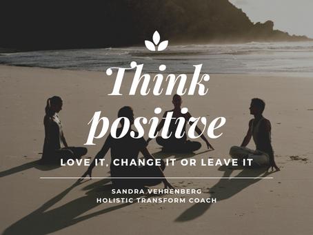 Probleme - LOVE IT - CHANGE IT  OR LEAVE IT🙏🏻