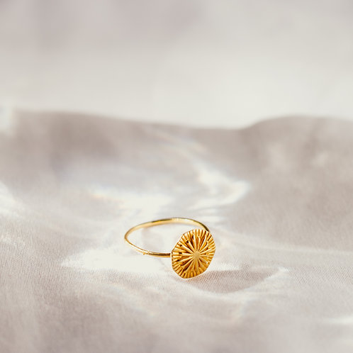 PALMA 925 Sterling Silverring gold plated
