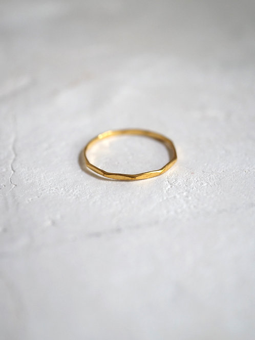 WAVE 925 Sterling 18k gold plated