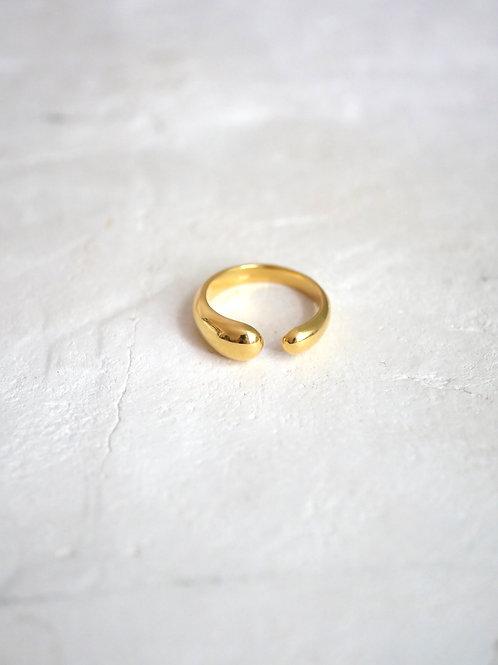 PRIA Ring 925 18k gold vermeil
