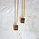 Thumbnail: Moon Sister Necklace 18k gold vermeil  925 Sterling Silver