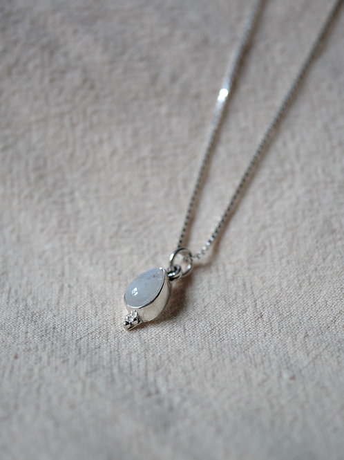 AYDA Moonstone 925 Sterling Silver