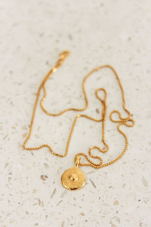 EARTH Necklace 925 gold plated