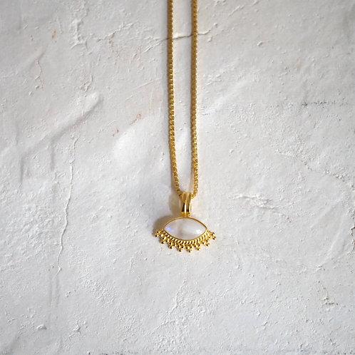 TILDA Moonstone Necklace Gold