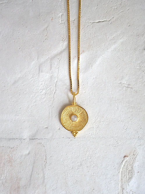 CALEA Necklace 925 gold plated Moonstone