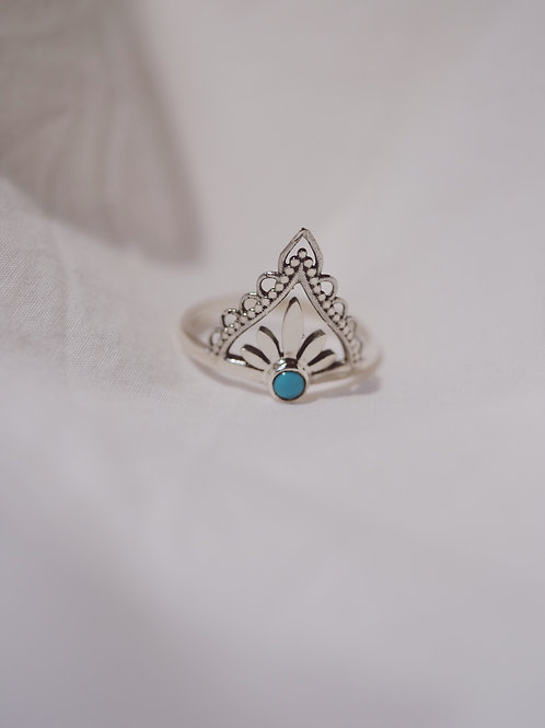 TEMPLE with Turquoise 925 Silver
