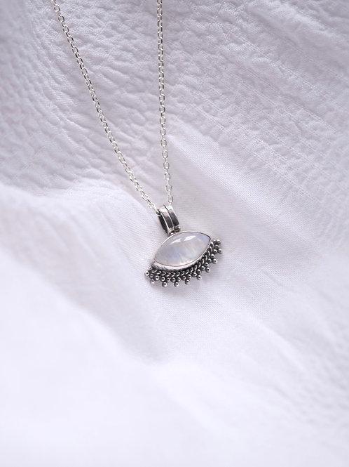 TILDA Moonstone Necklace Silver