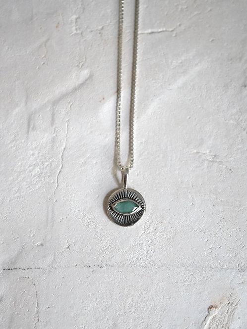 3rd EYE Amazzonite 925 Sterling Silver