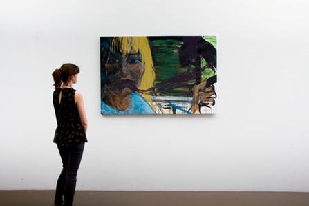 Acrylic painting on canva, cmxcm