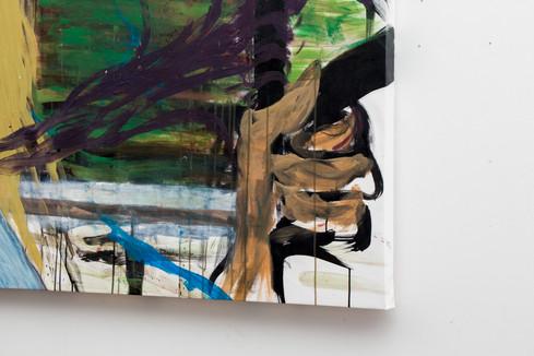 "Detail of """",  Acrylic painting  on canva, cmxcm"