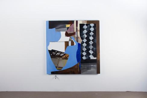 Oil painting on canva, cmxcm