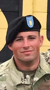 Tyler Conti headshot military