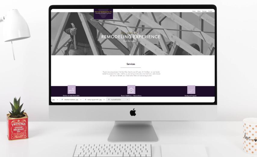 Wild Boar Builders Website Design