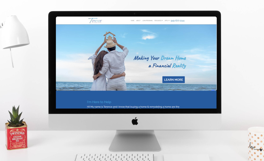 Terence Flannigan Loan Officer Website Redesign