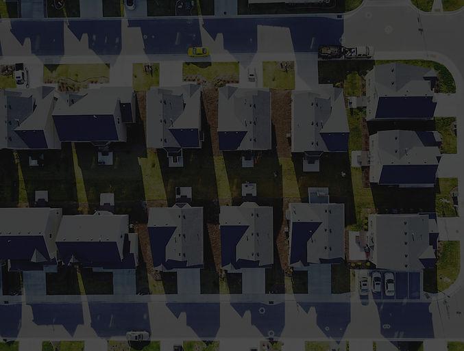 birds-eye view of neighborhood