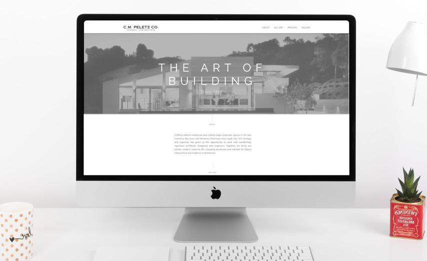 C.M. Peletz Co. General Contractors Website Design