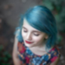blue hair girl meditating.jpg