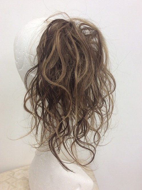 brown with highlights 4/27 wavy  14inches 41g  long 36g