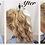 Thumbnail: dark brown with h/lights 4/613 human hair 14 inches  long ponytail 45g