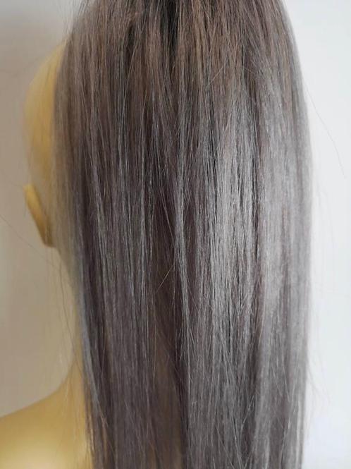 Grey 16 inches human hair 31g