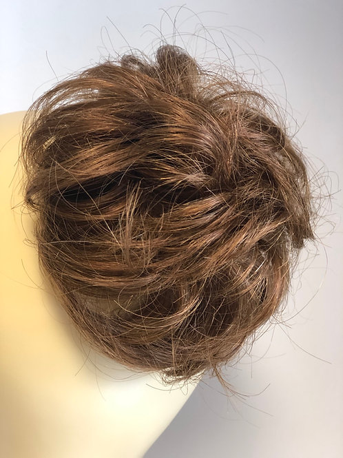 Brown human hair Scrunchie
