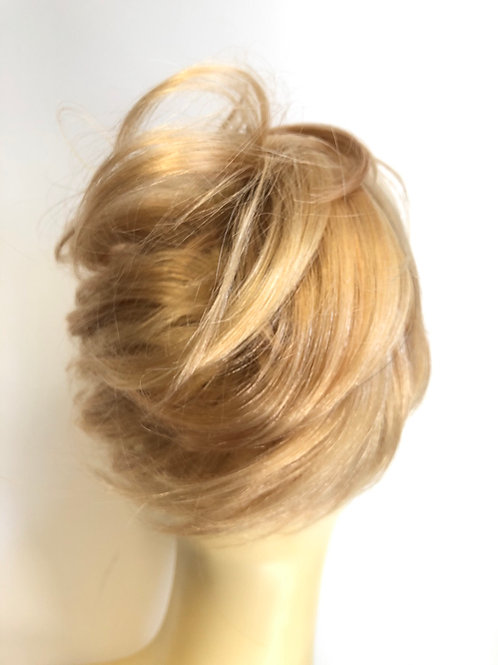 Golden blonde 27/613 human hair deluxe Scrunchie