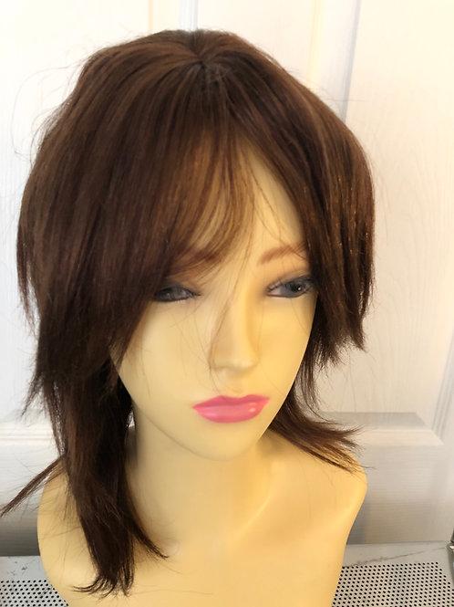 Brown human hair wig (4)