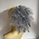 Thumbnail: Frizzy deep curl Afro synthetic hair Scrunchie