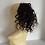 Thumbnail: CopyBlablack  and plumb 1B/99J human hair blend 12  inches very curly