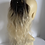 Thumbnail: Blonde ombré 12 -14 inches 1/613 black to blonde wavy