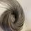 Thumbnail: Salt and  peper human hair Scrunchie 8-10 inches