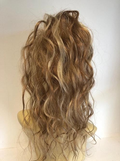 Mixed golden blonde human hair extension (30/27/613)39g