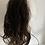 Thumbnail: Dark brown (2) 14 inches loose body hair scrunchie