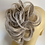 Thumbnail: Blonde mix with silver tips  hair Scrunchie tie ponytail