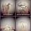 Thumbnail: burgandy 99J ponytail 100% human hair scrunchie  14 inches 38g