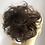 Thumbnail: Darkest brown 2 ponytail extension Scrunchie