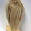Thumbnail: Natural mixed blonde 12/16/613 human hair extension Scrunchie 12  inches 40g