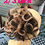 Thumbnail: Ombré 2/27 human hair scrunchie