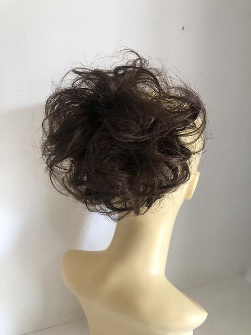 Darkest brown 2 ponytail extension Scrunchie