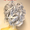Thumbnail: Grey curly synthetic hair Scrunchie hairpiece