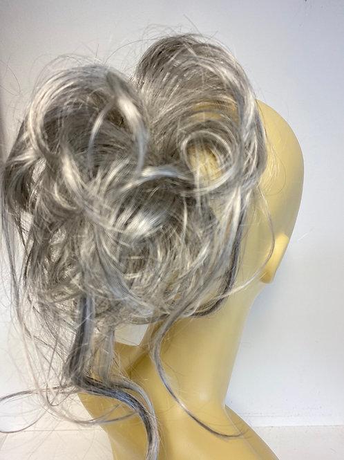grey  Bounce synthetic medium hair scrunchie