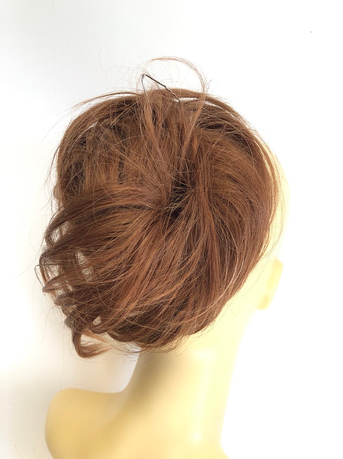 Copper brown deluxe 100% human hair (30)