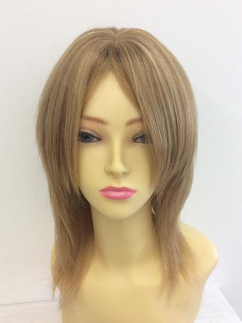 Mixed blonde shoulder length 100% human hair