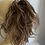Thumbnail: Brown with highlights human hair blend 10 inches