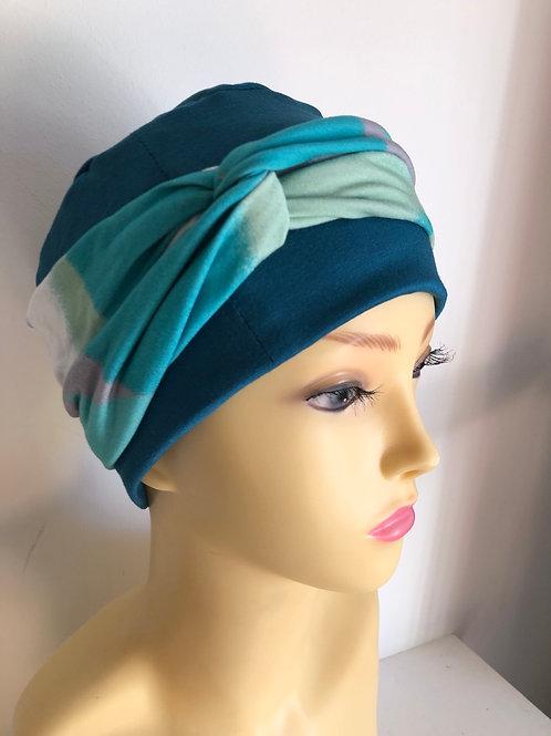 Teal headwear