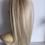 Thumbnail: Platinum 14 inch human hair 41g
