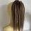 Thumbnail: Mousey brown (9) loose body  hair scrunchie blend human hair mix synthetic
