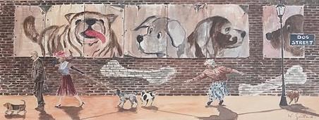 Dogs street