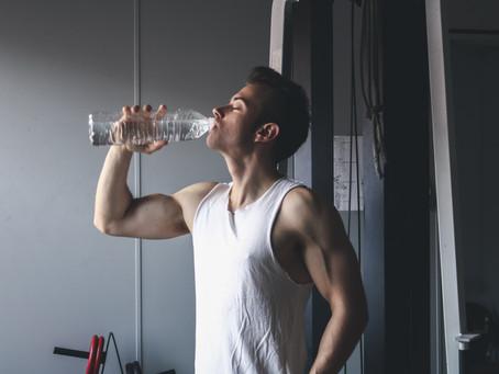 Drink enough water while bulking!