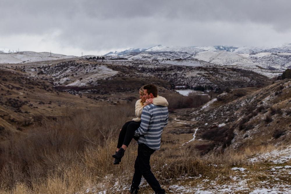 Engagement Photo in Boise, Idaho